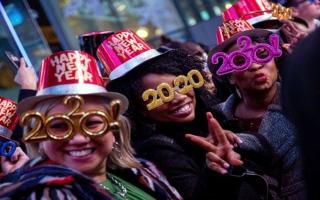 الصورة: حول العالم ليلة رأس السنة