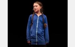 الصورة: غريتا ثانبيرغ فتاة 2019.. و«قائدة مليونيات» رفض تخريب المناخ