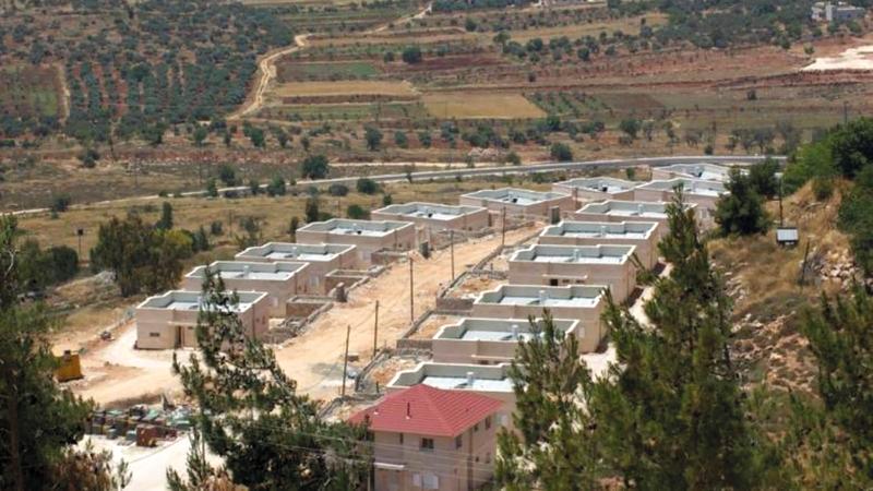 حسب المخطط ستقام 534 وحدة سكنية و12 وحدة تجارية في مستوطنة شيلو بنابلس. أرشيفية