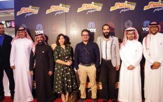 الصورة: صناع «مسامير» يشاركون جمهور الإمارات العرض الخاص
