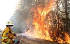 الصورة: دخان حرائق الغابات الأسترالية وصل إلى أميركا الجنوبية