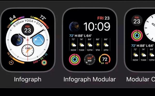 الصورة: تجهيز «ساعة أبل» لالتقاط صور الشاشة