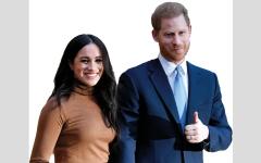 الصورة: العائلة المالكة البريطانية محبطة بعد إعلان هاري وميغان التخطيط لتركها