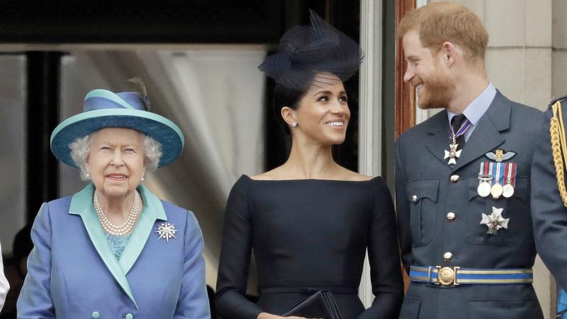 هاري وميغان لن يعودا فردين من العائلة المالكة. ■ أرشيفية