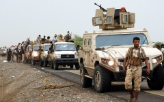 الصورة: القوات المشتركة تتقدم في الضالع ضمن «صمود الجبال».. ومصرع قائد للميليشيات