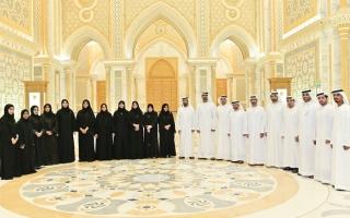 الصورة: قصر الوطن يستقبل أعضاء المجلس الوطني الاتحادي