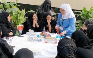 الصورة: «أصدقاء السكري» تدرِّب ممرضات المدارس