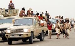الصورة: «المشتركة» تطلق عملية «ثأر الصمود» باتجاه مواقع الميليشيات في الضالع