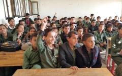 الصورة: الميليشيات تخطط  لإغلاق 70 مدرسة  أهلية في صنعاء