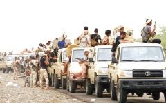 الصورة: القوات اليمنية المشتركة تحرّر كامل منطقة الفاخر شمال قعطبة الضالع