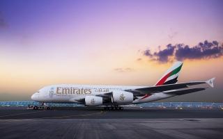 الصورة: تنبيه من «طيران الإمارات» بخصوص الأحوال الجوية