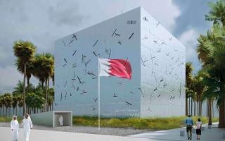 الصورة: جناح البحرين.. تجربة حقيقية لمفهوم الكثافة عبر الحياكة