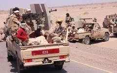الصورة: القوات المشتركة تحرر 14 موقعاً في إطار عملية «ثأر الصمود» بالضالع