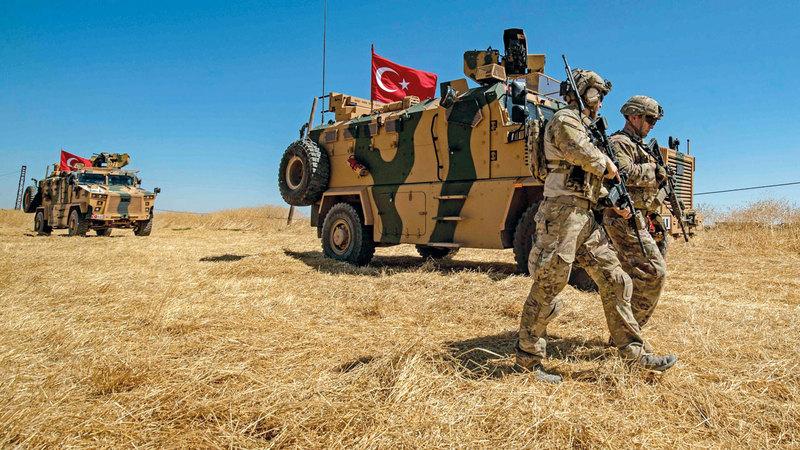 التدخل التركي في سورية أغضب الأميركيين كثيراً. أرشيفية
