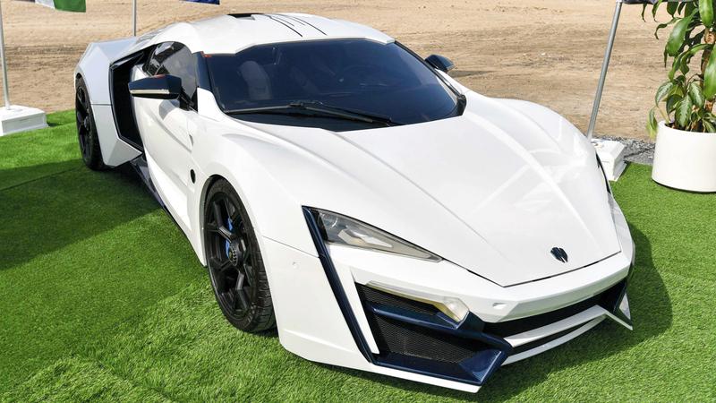 نموذج من السيارات التي تصنعها شركة «دبليو موتورز».■تصوير: أشوك فيرما