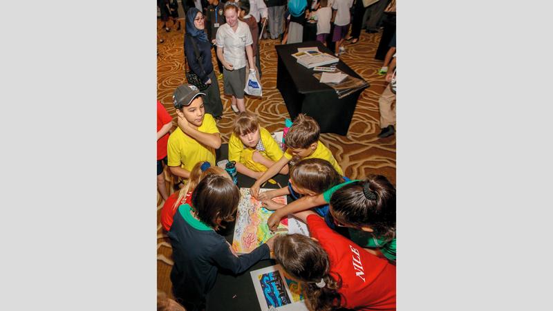 مهرجان طيران الإمارات للآداب أثبت نفسه من أبرز الفعاليات الثقافية على مستوى المنطقة. تصوير: أشوك فيرما
