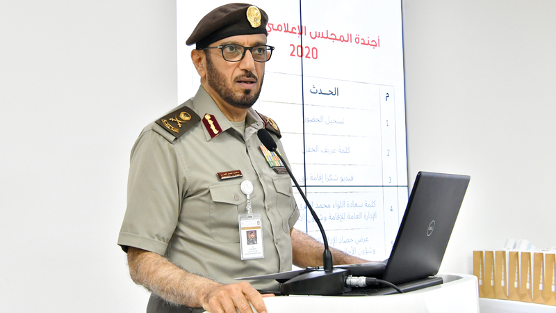 اللواء محمد المري:  الإدارة على استعداد لاستقبال الأعداد الكبيرة من زوار إكسبو 2020.