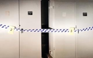الصورة: ضبط عصابة توصل التمديدات الكهربائية صباحاً وتسرقها ليلاً