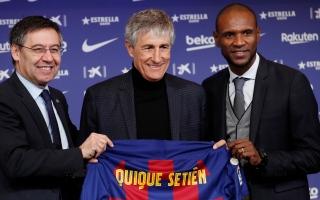 الصورة: برشلونة يقدم رسميا المدرب الجديد بعقد حتى يونيو 2022