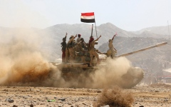 الصورة: الجيش اليمني يتقدّم بمسقط رأس زعيم الحوثيين في صعدة