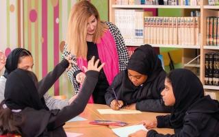 الصورة: «العاصمة العالمية للكتاب» تطلق حملة «مدارس صديقة للكتاب»