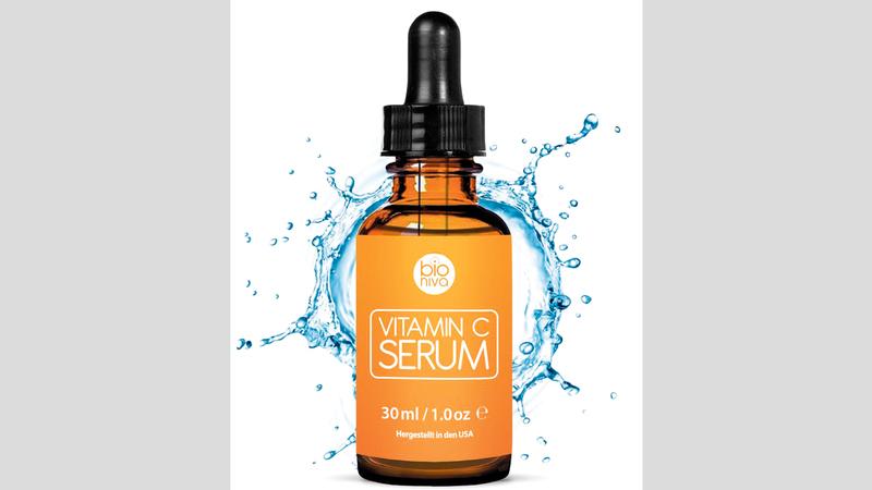 سيروم فيتامين سي يساعد على التمتع ببشرة متجانسة. د.ب.أ