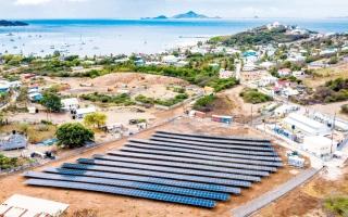 الصورة: الإمارات تموّل مشروعات للطاقة الشمسية في «الكاريبي»