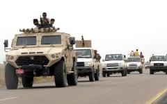 الصورة: القوات اليمنية المشتركة تحرر 3 مناطق استراتيجية في «مريس» الضالع