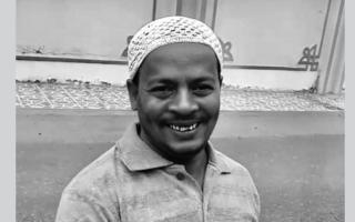 الصورة: العثور على جثة الغريق الآسيوي بمنطقة غمضاء في سلطنة عمان