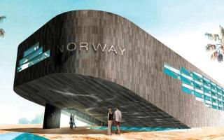 الصورة: جناح النرويج.. رحلة تفاعلية من قاع البحر إلى سطحه
