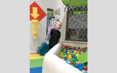 الصورة: بريطاني ينشئ غرفة ألعاب لابنه في المنزل