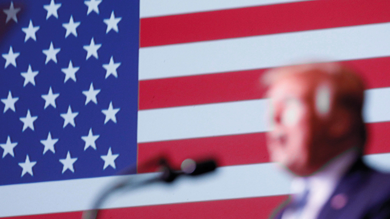 ترامب يحتاج إلى استراتيجية أكثر من مجرد الاستجابة لتحركات إيران التكتيكية.أرشيفية