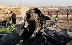 الصورة: إيران تواصل تلفيق الأخبار عن الطائرة الأوكرانية المنكوبة