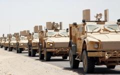 الصورة: الجيش اليمني يدمّر تحصينات حوثية بصعدة ويسيطر على سلسلة جبال الأزهور