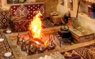الصورة: شرطة أبوظبي تسجل حالات اختناق بـ «دفايات الحطب»