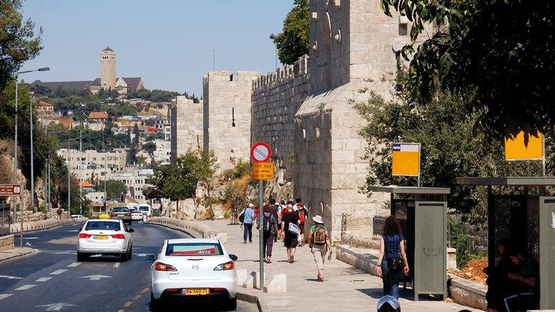 شارع السلطان سليمان في القدس سيكون المحطة الأولى لمشروع هيكلة الأسواق التجارية. من المصدر