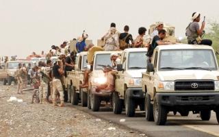 الصورة: الجيش اليمني يحرّر «التبة السوداء» بضبوعة نهم في صنعاء