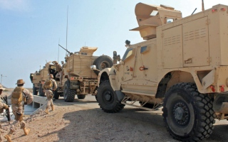 الصورة: الجيش اليمني يعلن الاستنفار بعد الهجوم الإرهابي الحوثي على مأرب