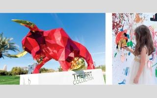 الصورة: الفنون تتصدّر المشهد في بطولة أوميغا دبي ديزرت كلاسيك