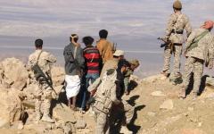 الصورة: الجيش اليمني يحرّر جبال جرشب على تخوم صنعاء