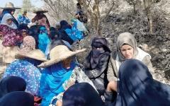 الصورة: تحقيق ميداني حول انتهاكات الميليشيات في تعز