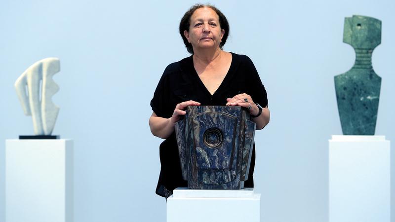 ولدت منى السعودي عام 1945 وعشقت الفن منذ طفولتها. تصوير: باتريك كاستيلو
