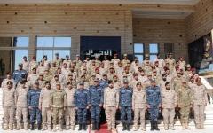 الصورة: تدريبات بحرية مشتركة بين مصر والسعودية