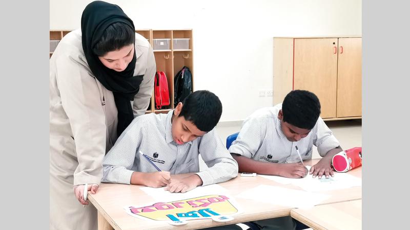 مراكز أصحاب الهمم تقدم خدماتها التعليمية والتدريبية والتأهيلية للطلاب. من المصدر