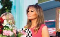 الصورة: ميلانيا ترامب تتجاهل تقاليد السيدات الأُوَل في البيت الأبيض