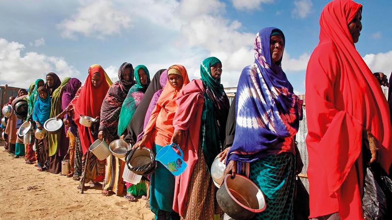 الصومال يزداد فقراً في ظل تواصل الحرب الأهلية.  أرشيفية