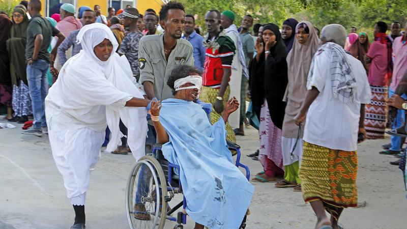 تفجيرات حركة الشباب لا تميز بين الصوماليين وتحصدهم جميعاً.  أرشيفية