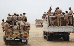 الصورة: الجيش اليمني يسيطر على أجزاء من هيلان مأرب ومواقع في نهم