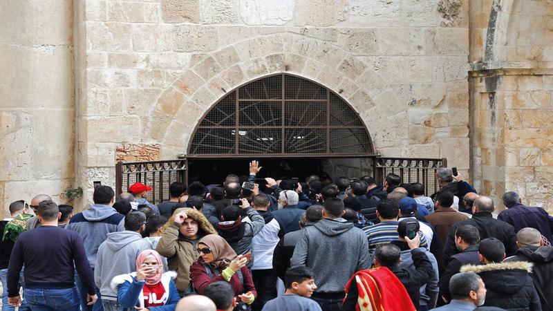 بعد عام من إعادة افتتاح مصلى باب الرحمة.. إسرائيل تقرر إعادة إغلاقه. أرشيفية