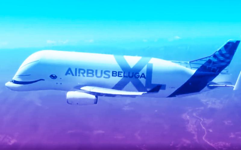 الصورة: بالفيديو.. أضخم طائرة في العالم